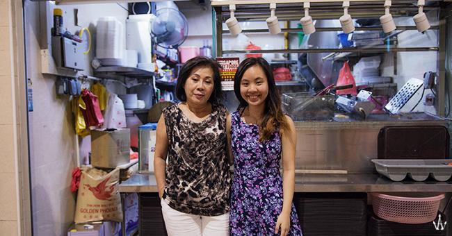 pin xiang chicken rice mum