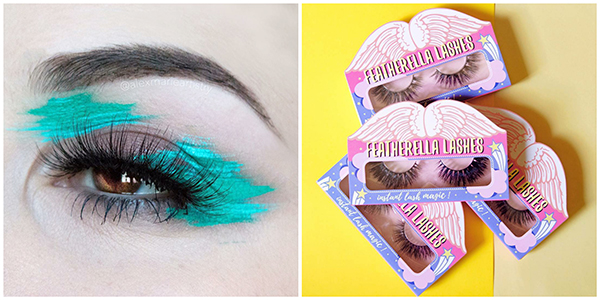 Featherella mink lashes Local Cosmetic Makeup Brands