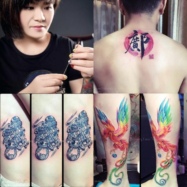 female tattoo artists memory lane