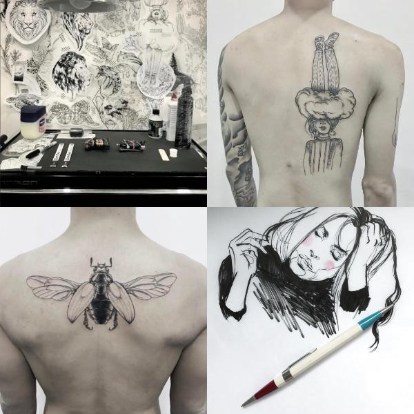 female tattoo artists fleecircus