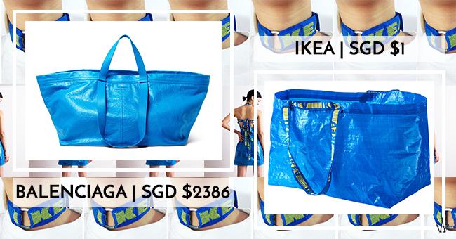 3fc3a21291c IKEA Plastic Bag Nails Runway With S 2386 Balenciaga Tote—But Internet  Hacks Still Win