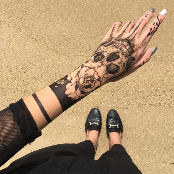 Singapore Henna Artist Creates Stunning Temporary Tattoos With Jagua