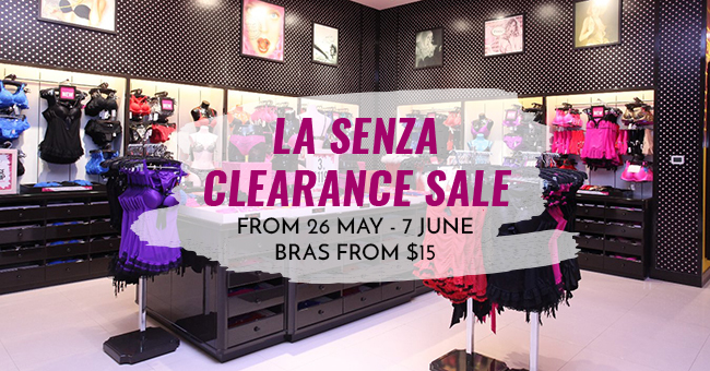 44561025ee6b0 Get Bras From S 15 At The La Senza Island-Wide Sale (June 2017 ...