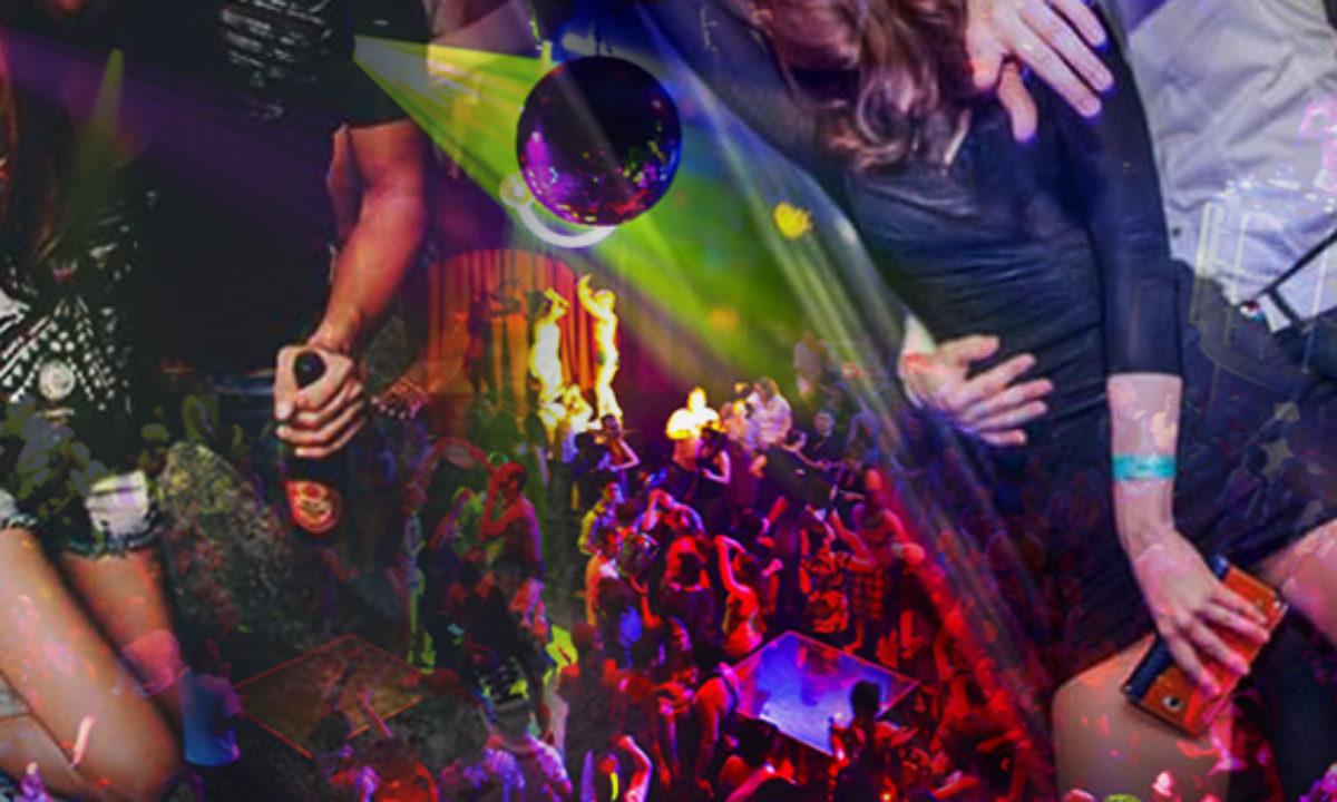 Drunk teen rave