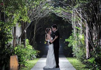 huge wedding ceremony