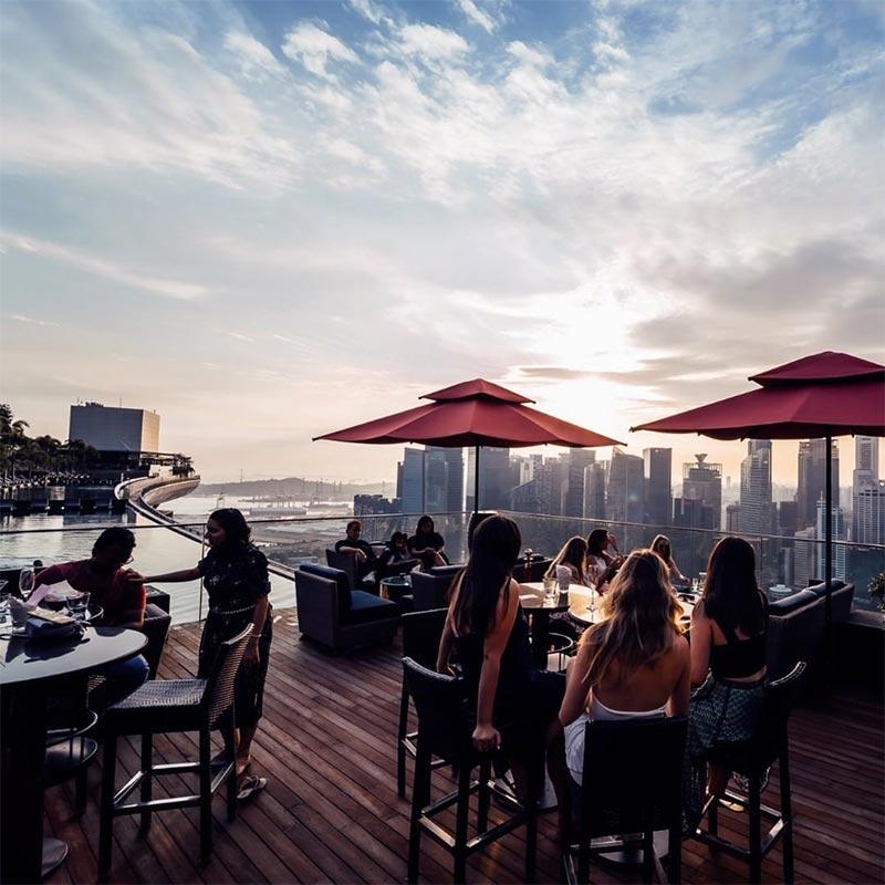 Rooftop Bars Singapore Ce La Vi