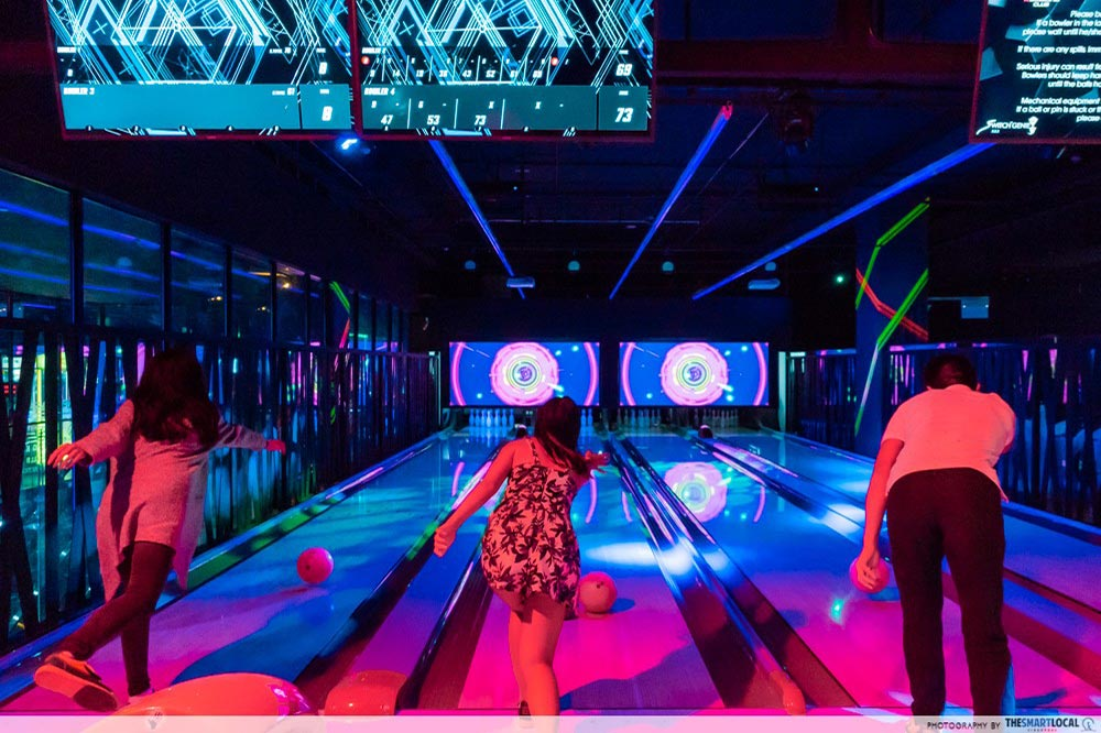 Indoor Date Ideas K Bowling