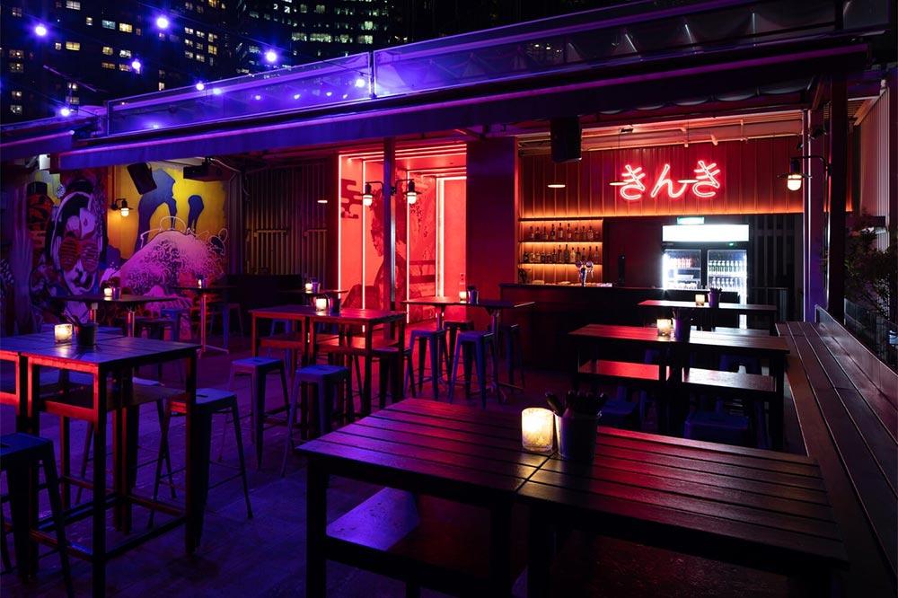 Rooftop Bars Singapore Kinki
