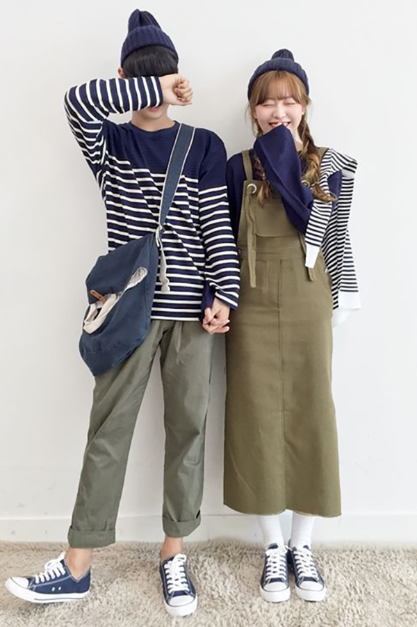9 Korean Inspired Couple Outfits That Aren T Cheesy His Hers T