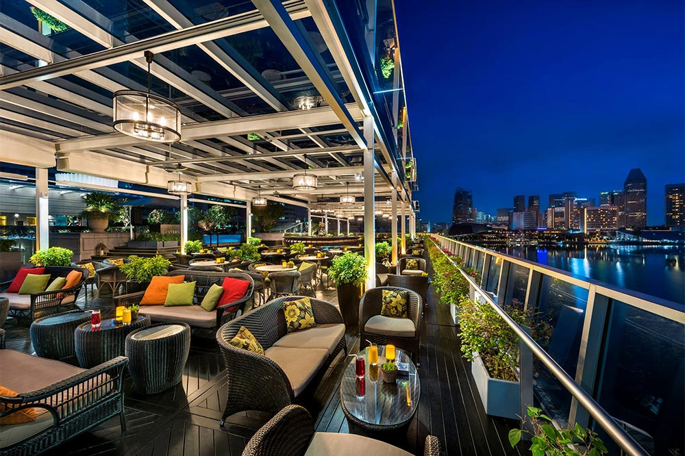 Rooftop Bars Singapore Lantern