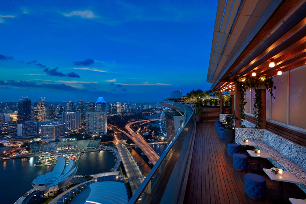 Rooftop Bars Singapore Lavo