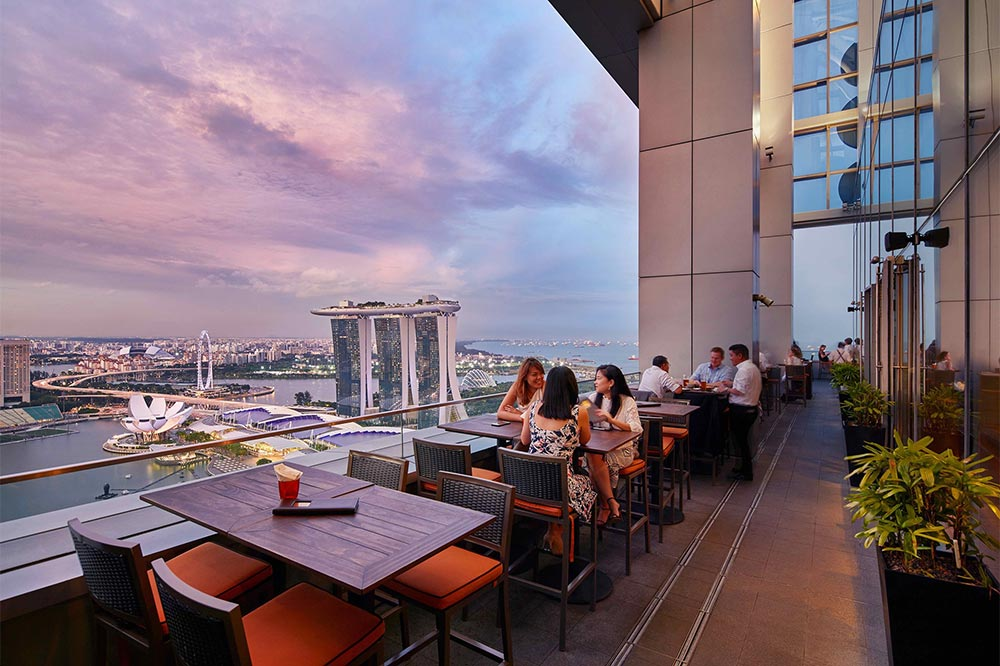 Rooftop Bars Singapore Level 33