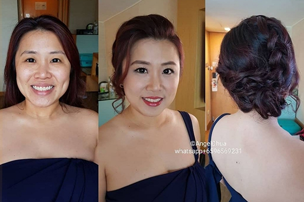 Price: S$150/pax. Each session includes: Makeup, Hairstyling Other services: Bridal Makeup, Photoshoot Makeup