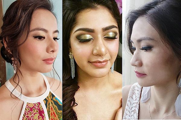 Price: S$250/pax. Each session includes: Makeup, Hairstyling Other services: Bridal Makeup