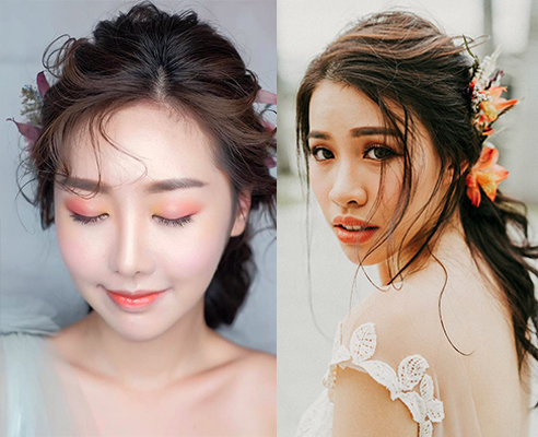 Price: S$150/pax. Each session includes: Makeup, Hairstyling Other services: Bridal Makeup