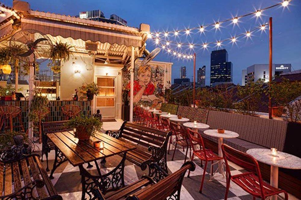 Rooftop Bars Singapore Potato Head