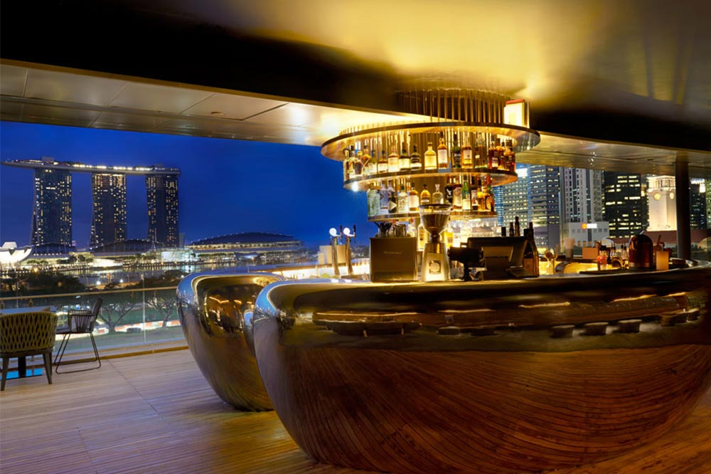 Rooftop Bars Singapore Smoke and Mirrors
