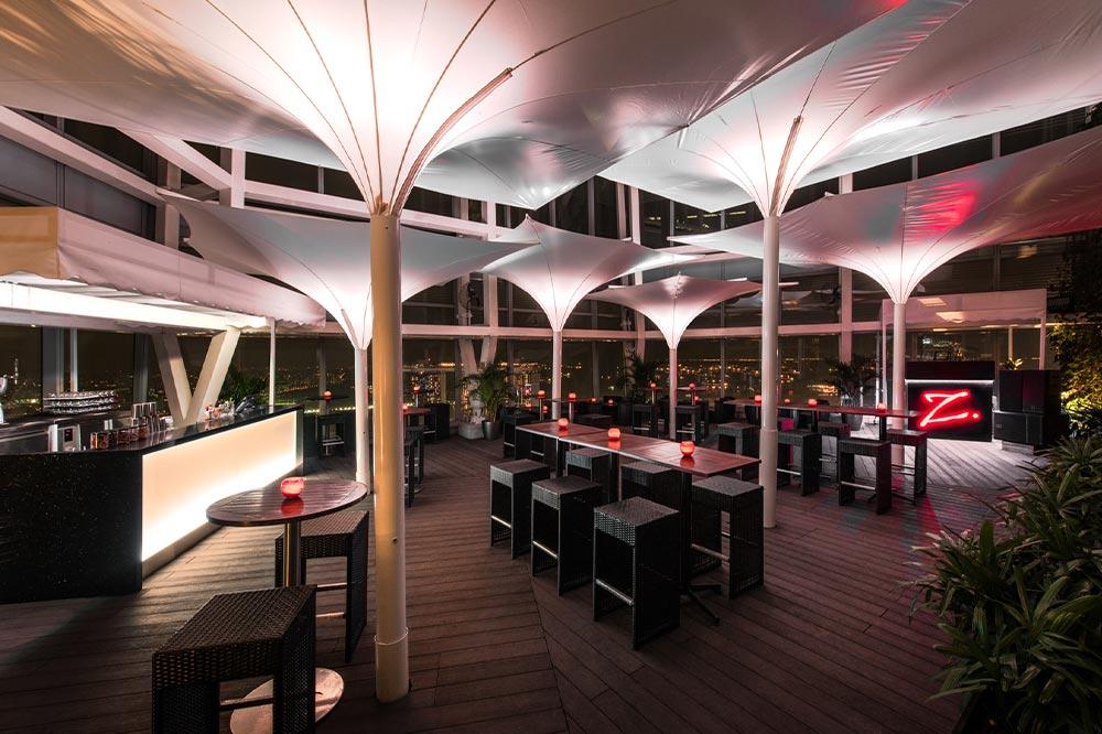 Rooftop Bars Singapore Zaffereno