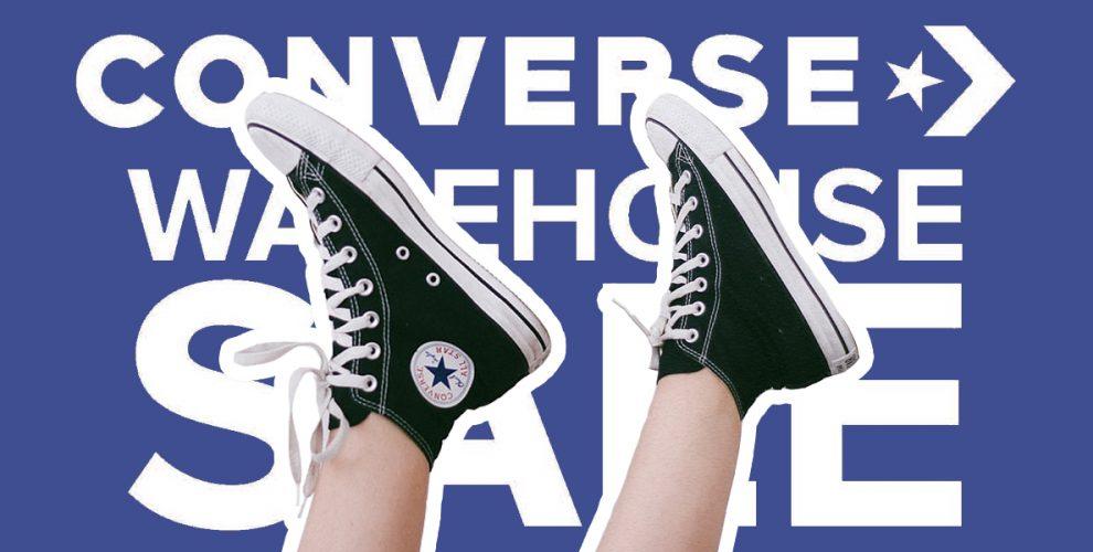 d5c6286628f7d5 Score S 19.90 Converse Shoes At Their SG Warehouse Sale (June 2018 ...