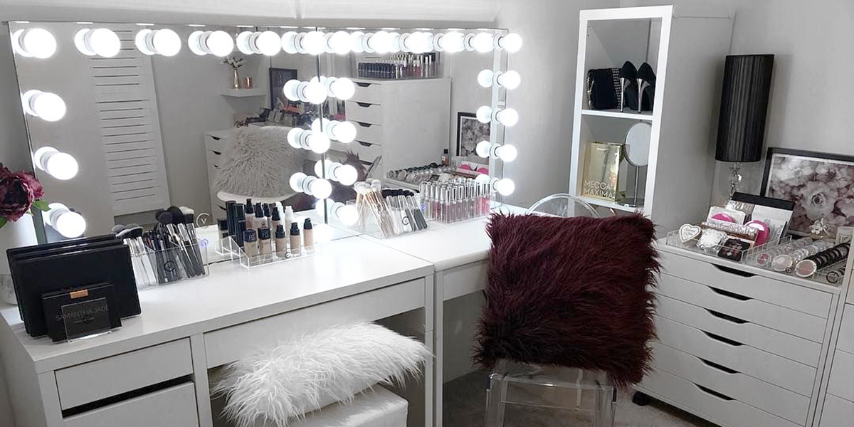 16 Insanely Gorgeous Makeup Dressing Tables And Where To Buy In Singapore Zula Sg