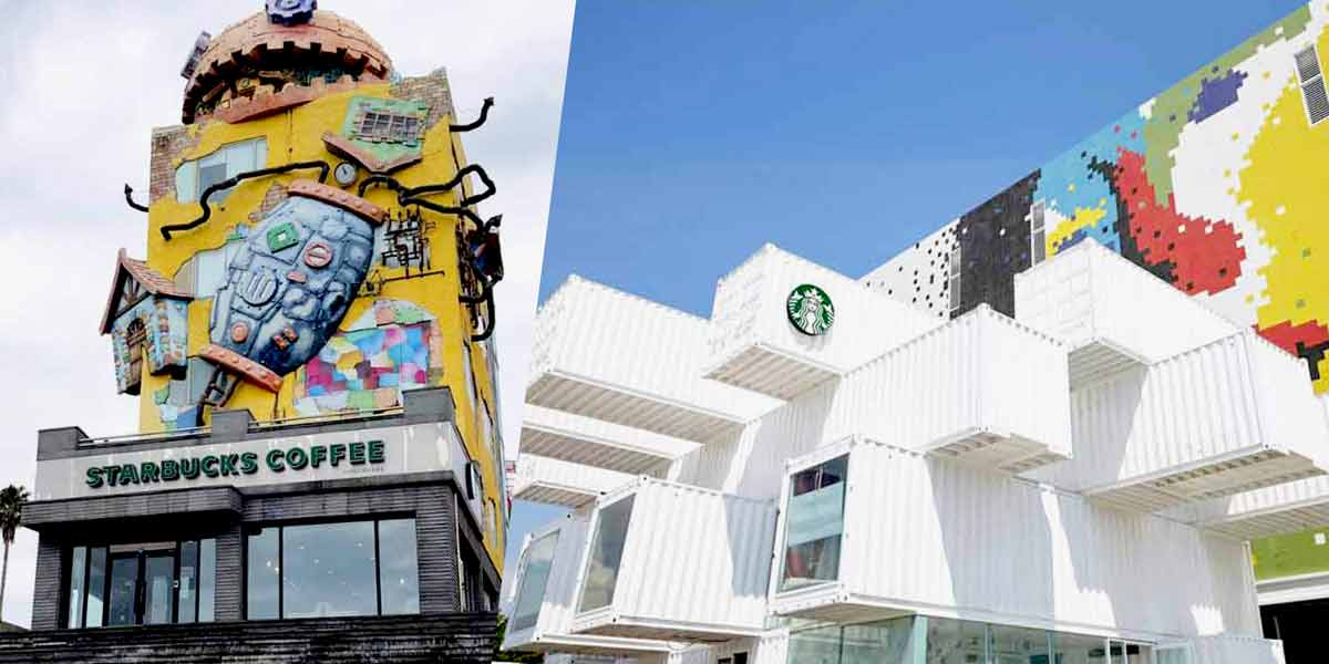 12 Most Unique Starbucks In Asia—Howl's Moving Castle, Container, Movie Theatre Themes