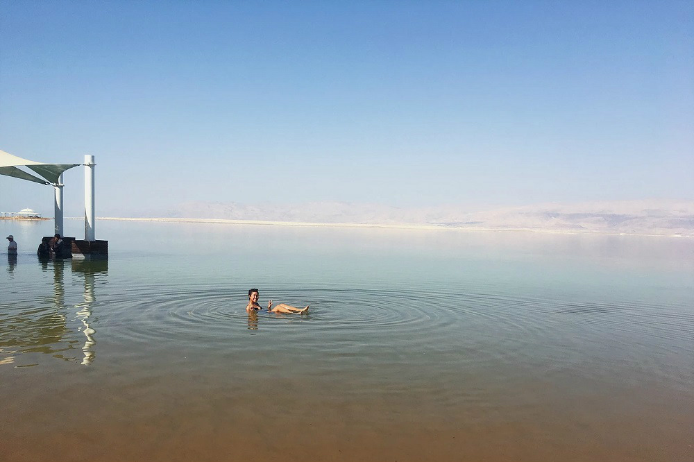 Solo Backpacking Dead Sea