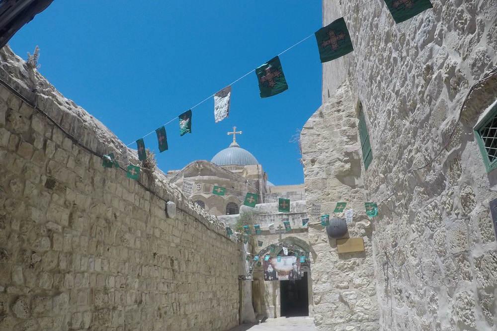 Solo Backpacking Jerusalem