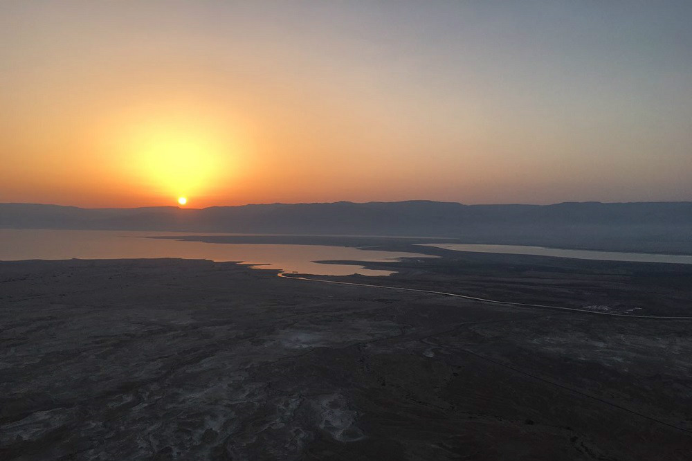 Solo Backpacking Sunrise