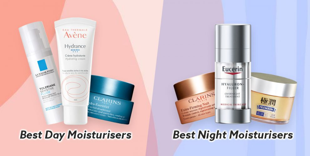 best day night moisturisers