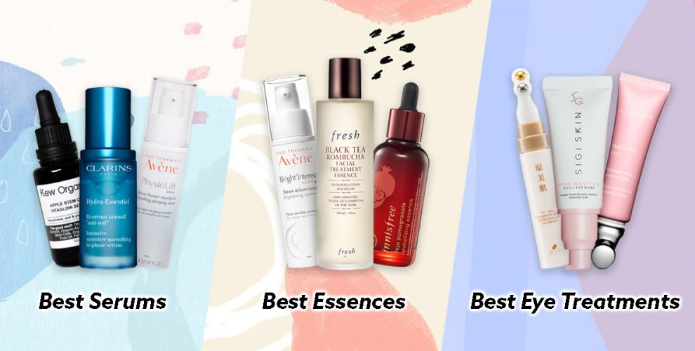 best serums essences eye treatments