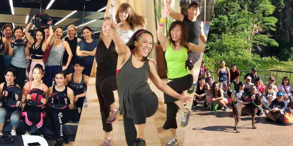 free fitness classes singapore