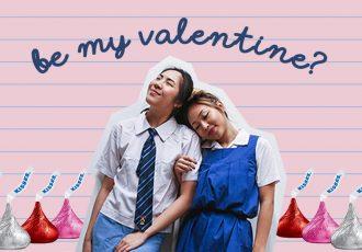 girls school valentines