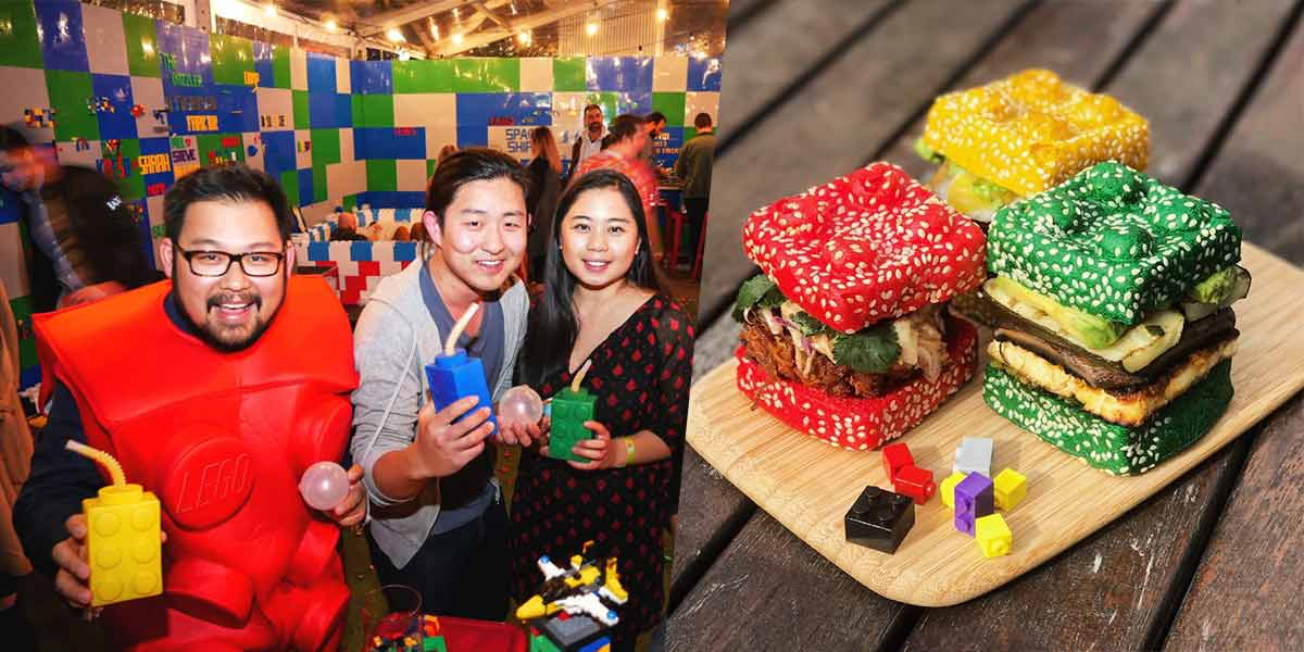 Brick Bar Singapore Is Made Of Over 1 Million Lego Pieces And Held At A Secret Location