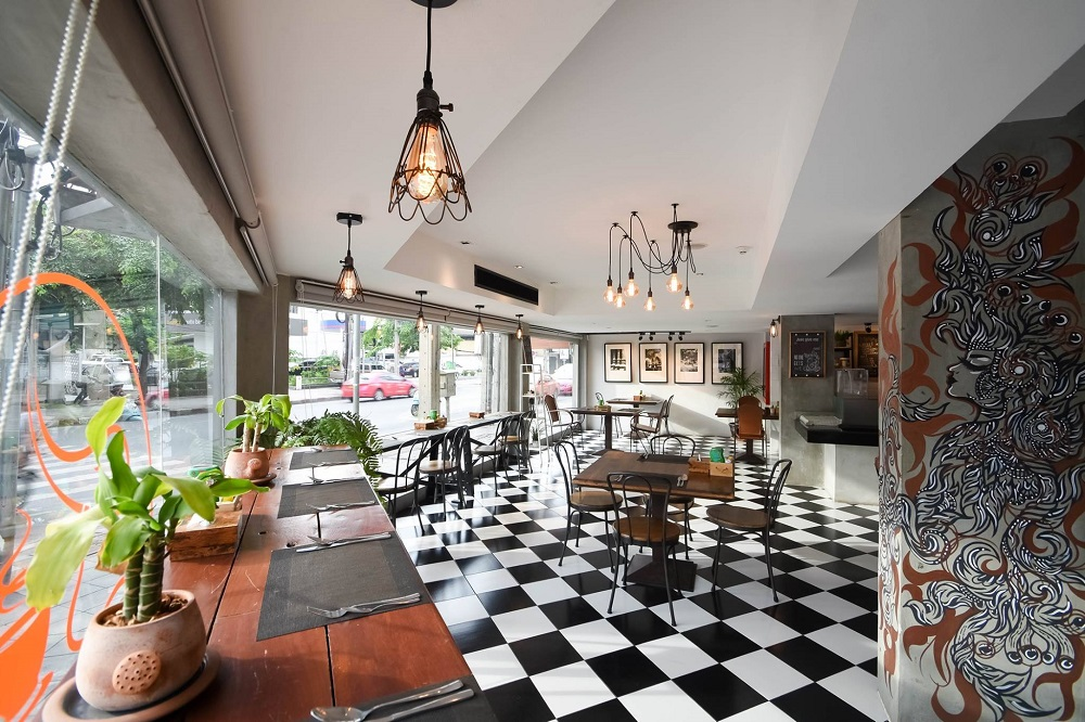 Cacha Hotel cafe