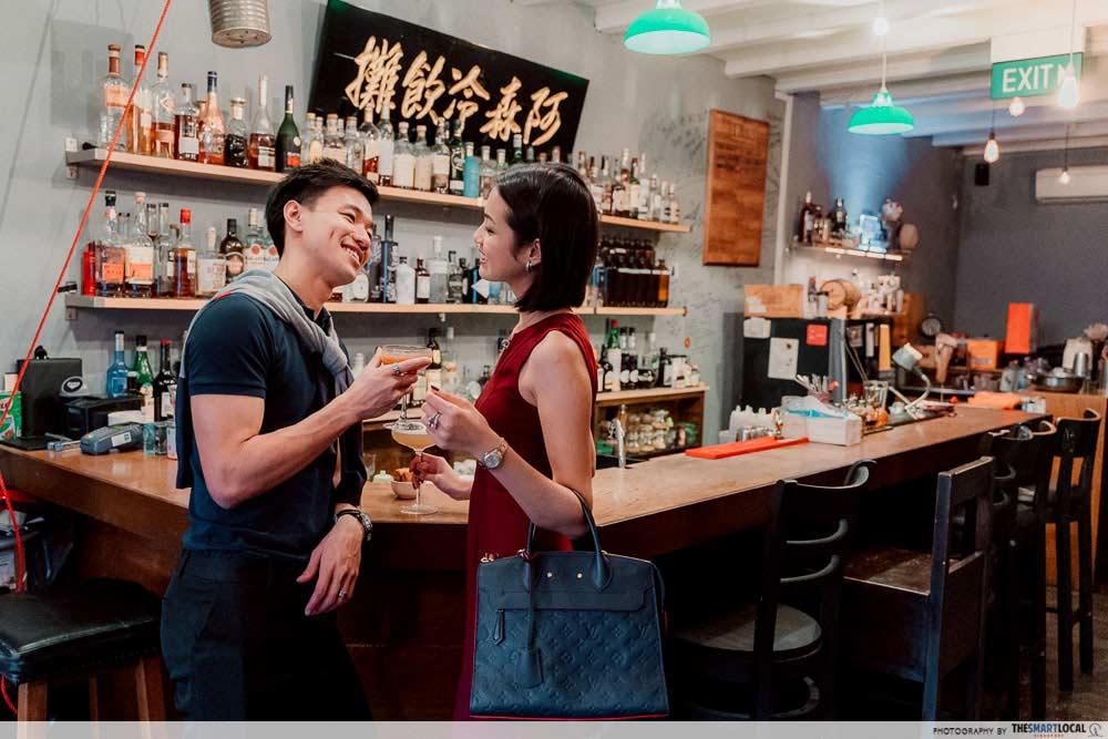 aesthetic bars singapore ah sam