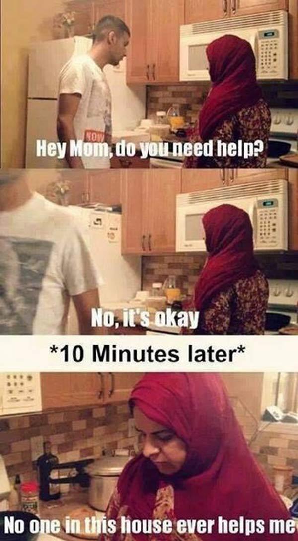asian mum