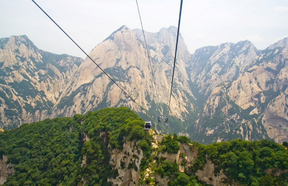 china travel huashan