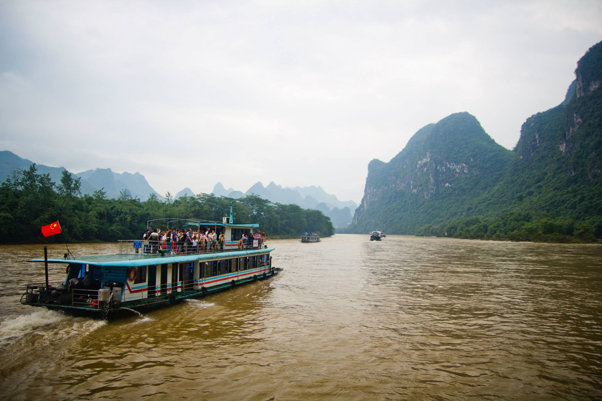 china travel li river