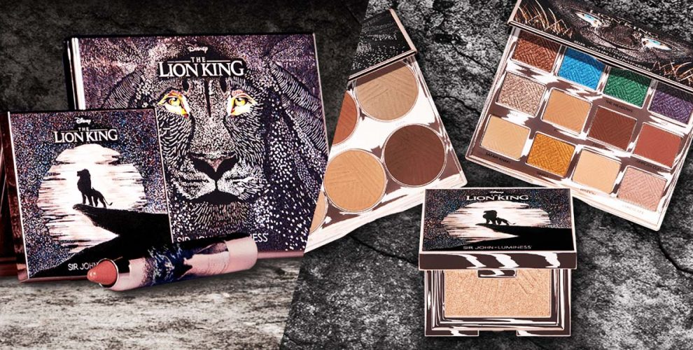 lion king makeup cover image