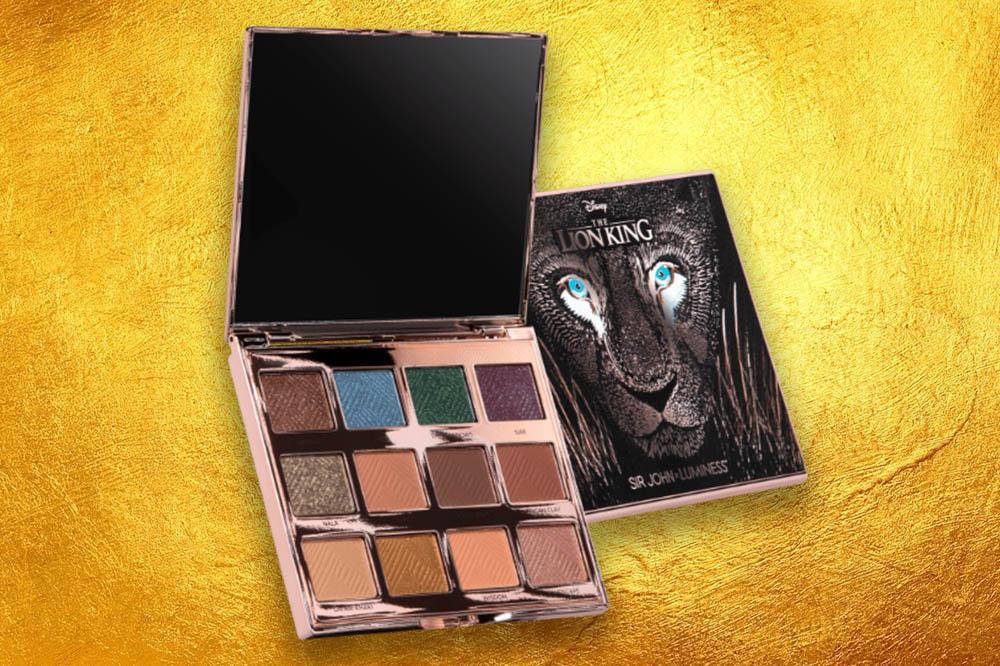 lion king makeup eyeshadow