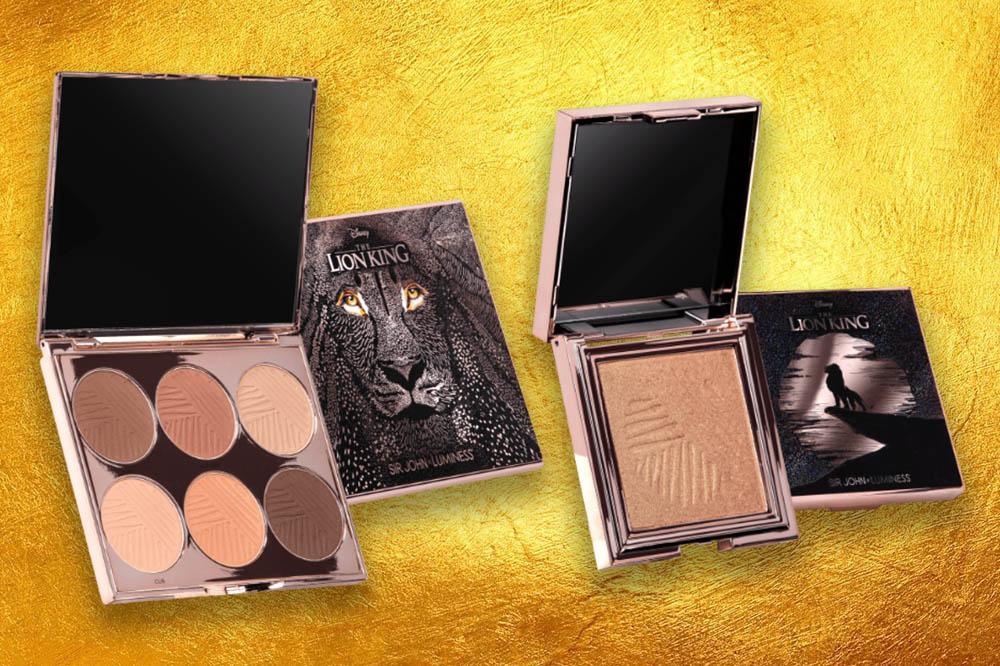 lion king makeup contouring