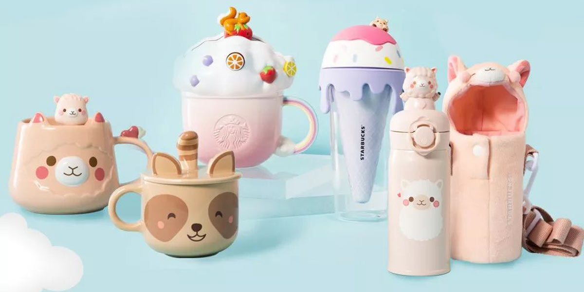 Starbucks China Animal-Themed Products Are Next-Level Cute