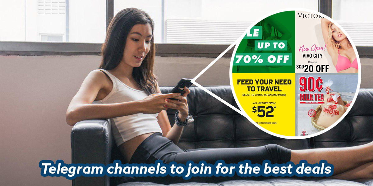 11 Telegram Channels To Join For The Best Shopping And Lifestyle Deals Including Up To 70% Off ASOS