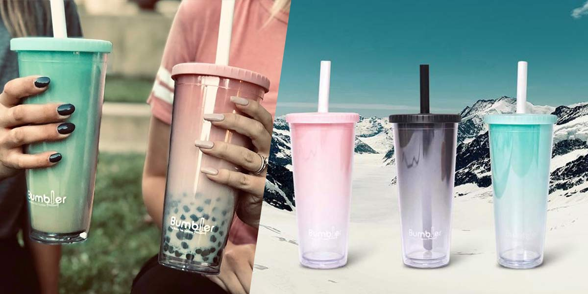 This Aesthetic Bubble Tea Tumbler Lets You Have Your Pearls And Save The Environment Too