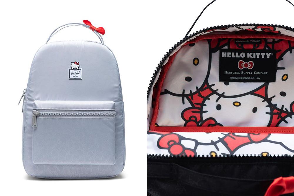 hello kitty herschel nova backpack