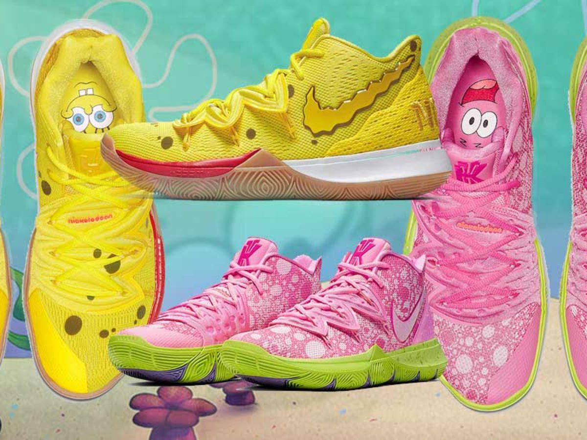 Nike x SpongeBob SquarePants Shoes Are