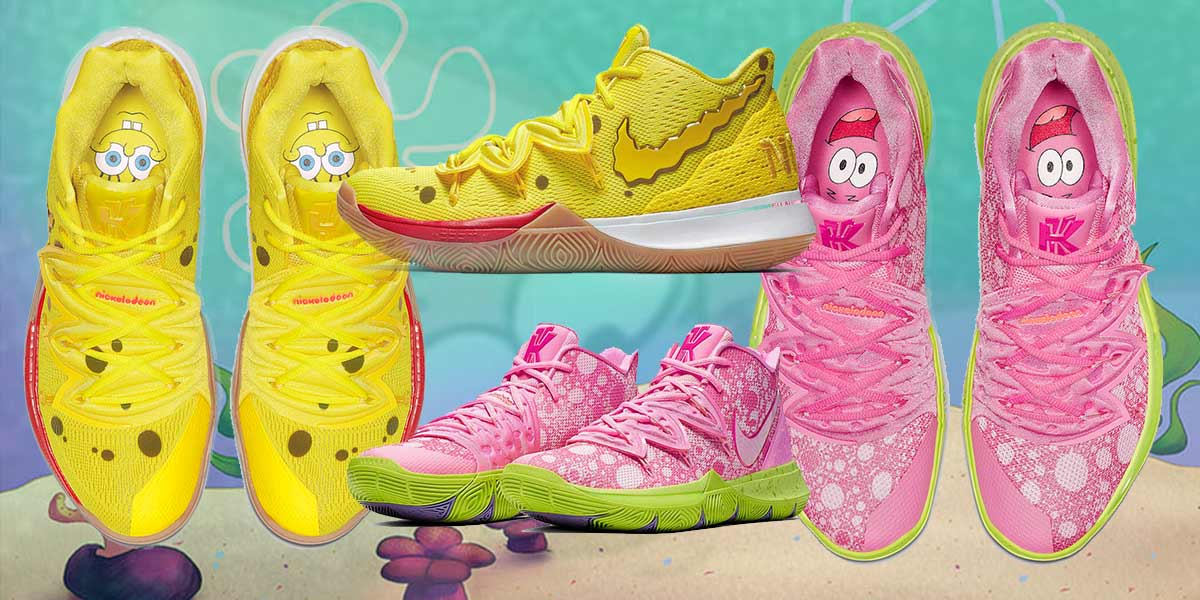 Nike x SpongeBob SquarePants Shoes Are Equally Hype And Meme-Worthy