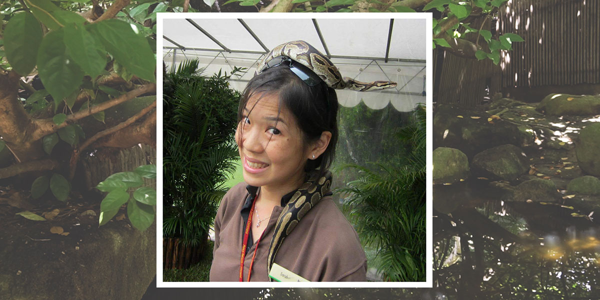 Zookeeper In Singapore: How This Cambridge University Graduate Fulfilled Her Dream Of Working With Animals