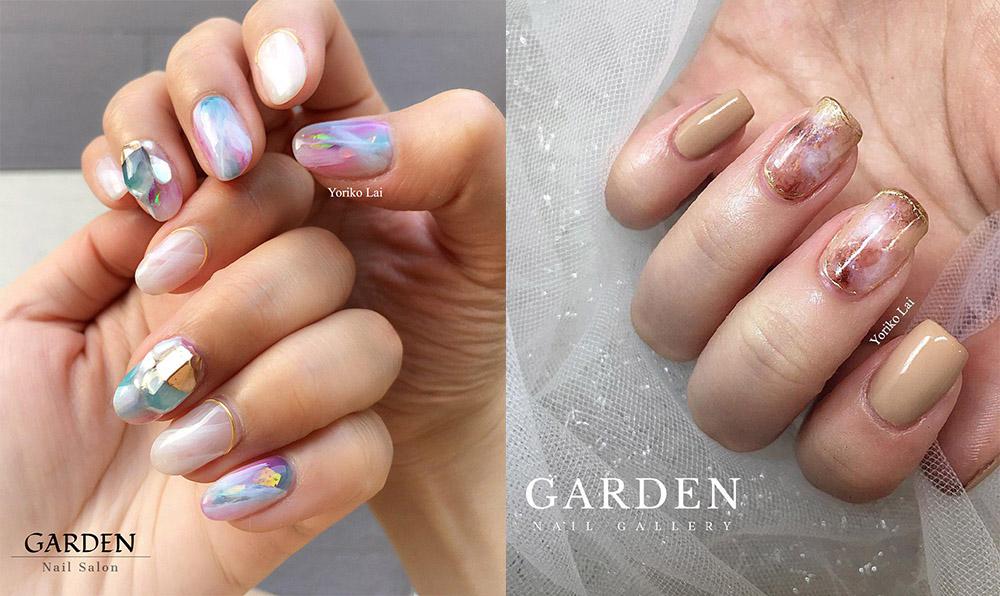 garden nail gallery