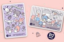 sanrio characters ezlink cover